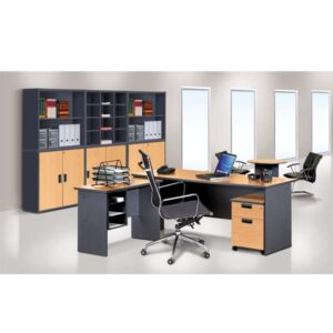 Office Table and Cabinets