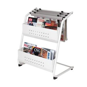 Magazine & Newspaper Rack